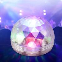 LED Discokugel Lichteffekt Magic RGB DJ Party lichtorgel Bühnenbeleuchtung 3w