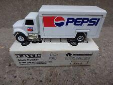 ERTL PEPSI DIE CAST TRUCK No# 7697  1602 BEVERAGE TRUCK  BOX  1/64 SCALE  1992