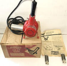 New listing Vtg Dayton Electric Heat Gun 115 Volts Max 750 Degree 2Z045 W/Box Instruct,Coils