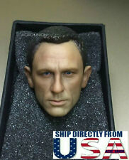 1/6 Daniel Craig Head Sculpt 3.0 For James Bond 007 Skyfall Spectre Hot Toys USA