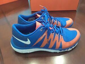 Nike Flywire Florida Gators Shoes - Men Size 8.5 - Blue/Orange - EUC!!