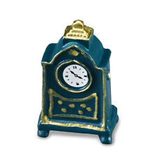 Small Mantle Clock Reutter Porcelain 1:12 Scale Made in Germany