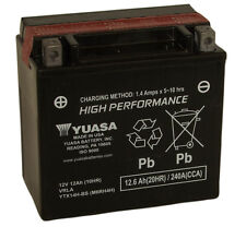 Genuine Yuasa YTX14H-BS Motorcycle Battery, High Performance Version of YTX14-BS