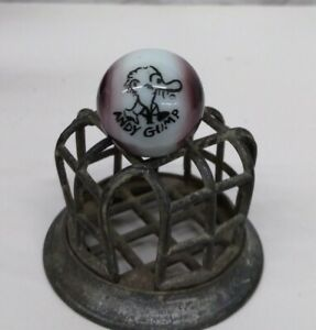 """Peltier REPRODUCTION Andy Comic Character Glass Marble 25mm, ⁶³/⁶⁴"""""""