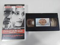 CONSPIRATION FILM BANDE VHS COLLECTEUR DE MEL GIBSON JULIA ROBERTS CASTILLAN