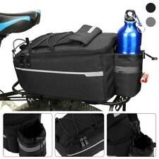 Bicycle Seat Rear Bag Waterproof Bike Pannier Rack Shoulder Cycling Carrier UK