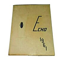 1961 Dyer Central High School Yearbook Dyer, Indiana  The Echo R1