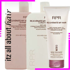 RPR REJUVENATE MY HAIR Shampoo, Conditioner & Mask TRIO PACK New Packaging