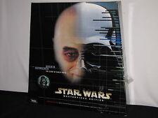 1998 Star Wars Masterpiece Anakin Skywalker Figurine and Darth Vader Book NIB