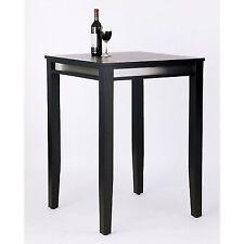 Home Styles Furniture Manhattan Solid Wood Black Bar Height Pub Table