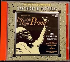 music for the LAST NIGHT of the PROMS 1990 Royal Philharmonic Sir Charles Groves