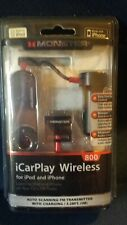 Monster iCarplay Wireless 800 FM Transmitter Car Charger iPod iPhone FM Presets