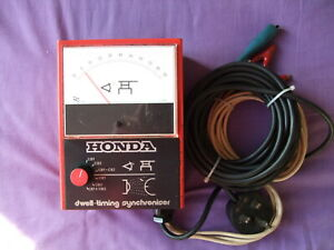 Dwell-Timing DWELL synchroniser. Meter/strobe Made for Honda by TI CRYPTON LTD