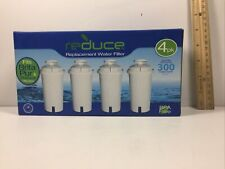 Three New Reduce Water Filter Replacements for BRITA Pur & Reduce Pitcher