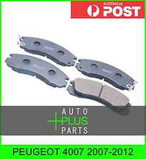 Fits PEUGEOT 4007 2007-2012 - Brake Pads Disc Brake (Front)