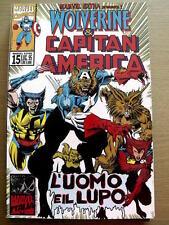 WOLVERINE & CAPITAN AMERICA - Marvel Extra n°15 1995 ed. Marvel Italia [SP16]