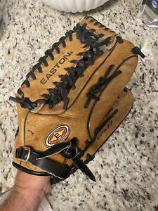 "Easton Baseball Glove 12 3/4"" EPS77 Right Hand Thrower Smooth Butter Lining USA"