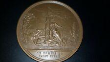 GRANDE Médaille Bicentenaire de la Révolution Francaise signé Raymond J.P COPPIN