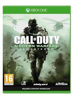 Call of Duty Modern Warfare Remastered For XBOX One (New & Sealed)