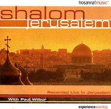 Paul Wilbur - Shalom Jerusalem CD 1995 Hosanna! | Integrity Music ** NEW **