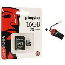 Kingston Micro SDHC 16 GB Class4 Scheda di Memoria 16gb per Telefono Mobile