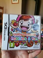 Cooking Mama World Hobbies & Fun - Nintendo DS 2DS & 3DS - Girls & Boys Game