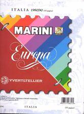 Fogli Marini Italia Repubblica versione Europa 1980 1990