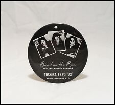 Paul McCartney & Wings 1973 Band On The Run Concert Tour Promo Button Pin
