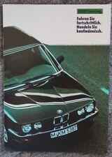 Prospekt BMW Leasing 1985 deutsch s.g. Zustand