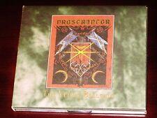 Proscriptor: The Venus Bellona CD 1995 Absu Cruel Moon Intl. Digipak Original