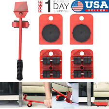 Heavy Furniture Moving System Lifter Kit W/4 Slider Glider Pad Sofa Easy Mover T