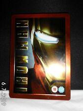 IRON MAN (2-DISC DVD 2008) Steelbook