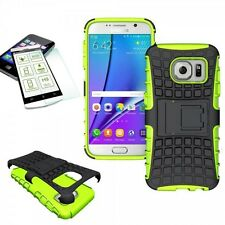 HYBRID COQUE PROTECTRICE 2 pièces Vert pour Samsung Galaxy S7 G930 G930F+H9