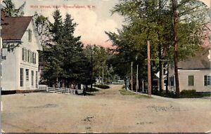 Postcard Main Street in West Stewartstown, New Hampshire~137778