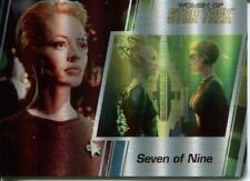 Star Trek Women Of 50th Metal Parallel Base Card #88 Seven of Nine and Borg
