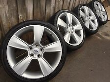 "GENUINE FPV FORD 19"" FG XR6 TURBO LUXURY WHEELS & TYRES XR8 MK2 NEAR NEW DUNLOP!"