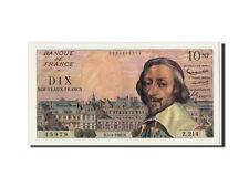 Billets, France, 10 Nouveaux Francs Richelieu, KM:142a, Fayette:57.18 #310200