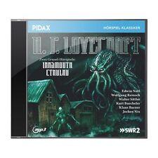H. P. Lovecraft - Innsmouth + Cthulhu * CD zwei Grusel-Hörspiele MP3-CD Pidax