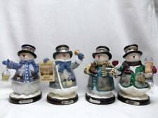 4 Thomas Kinkade Winter Wonderland Snowman snowmen First issue & also # 3,4, 5