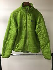 B09 Patagonia Small S Green Primaloft Quilted Jacket