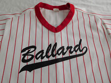Vintage Ballard Baseball Jersey Shirt Large Wilson Made USA Seattle Washington