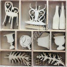 Lotti misti di articoli decorativi per scrapbooking