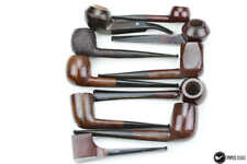 Lot of 10 reject pipes Brulor, Otomatic  unsmoked neuve new from 1960 (ref 6601)
