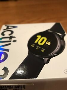 Samsung Galaxy Watch Active 2 44mm Aluminum Case Smartwatch Android, iOS - Apple