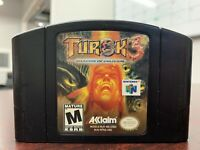 Turok 3: Shadow of Oblivion N64 (Nintendo 64, 2000) Authentic & Tested - Nice!!