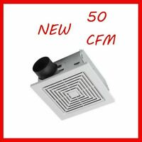 50 Cfm Broan Ventilation Fan Bathroom Exhaust Celing Vent Home Quiet Easy New