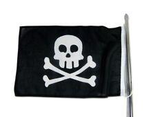Piratenflagge 30 x 45 cm robuste Fahne Piraten Totenkopf Flagge skull NEU 6292