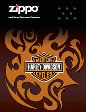 Briquet Zippo 2009 Harley Davidson Collection Produit Prix Catalogue Livre