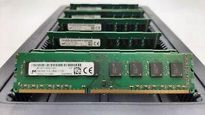 LOT 8 MICRON MT16KTF1G64AZ 8GB DDR3 PC3L-12800 1600 1.35V NONECC DIMM MEMORY RAM