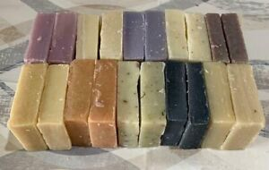 1.8kg Traditional Natural Handmade Soap Variety Good Sized Off Cuts Only £20.00!